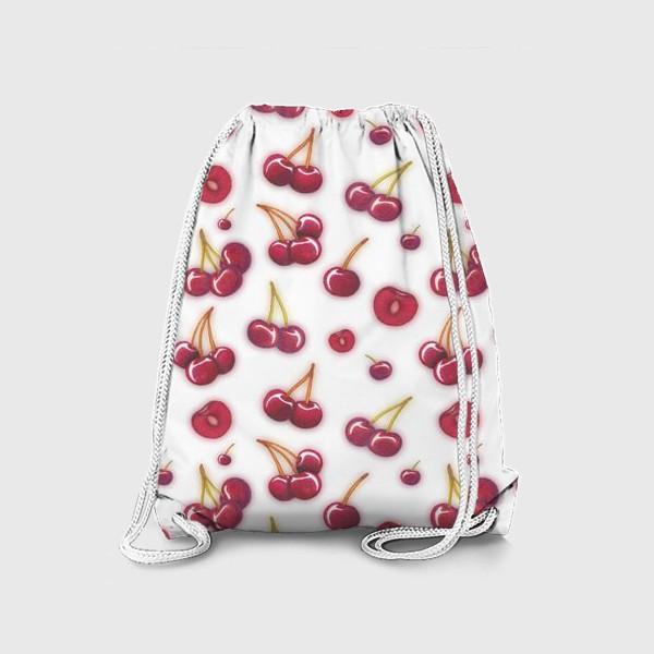 Рюкзак «Вишнёвый паттерн»