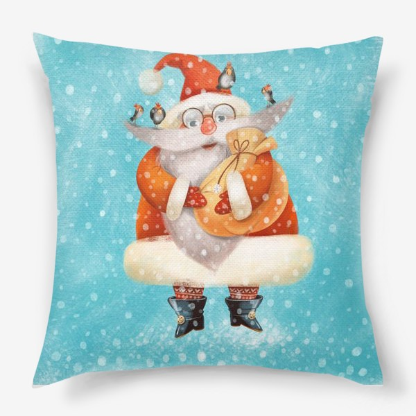 Подушка «Новый год.Санта»