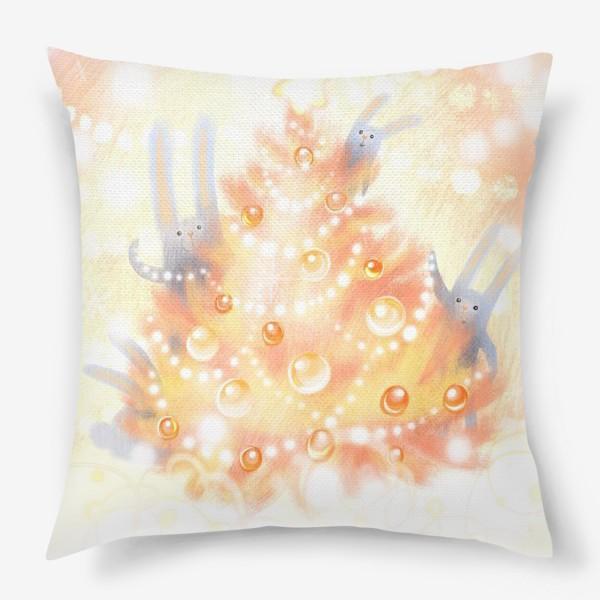 Подушка «Семейный Новый год»