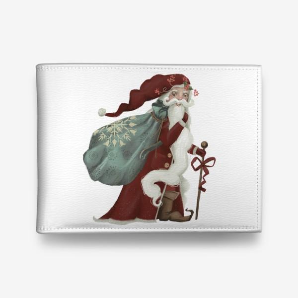 Кошелек «Новый год и Рождество, дед Мороз, Санта»