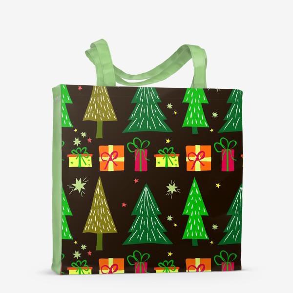 Сумка-шоппер «подарки под ёлкой»