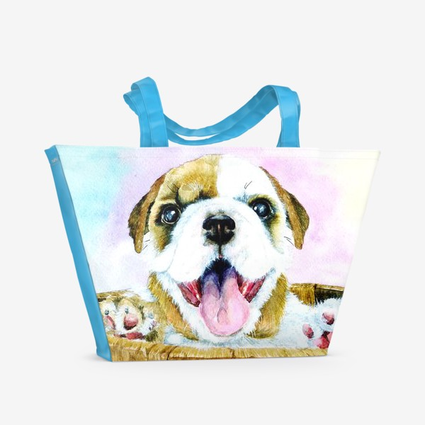 Пляжная сумка «Пёсик»