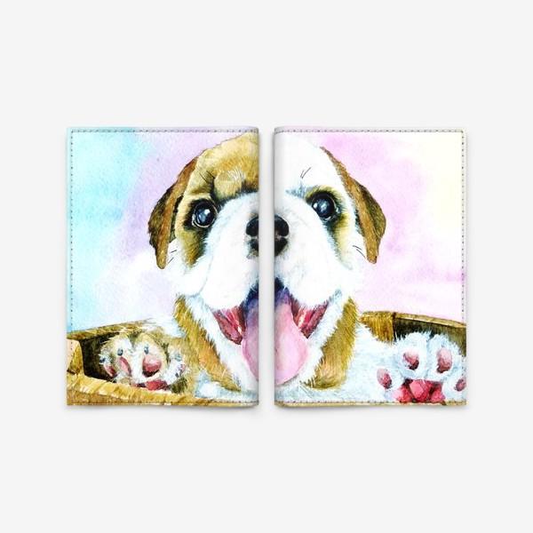 Обложка для паспорта «Пёсик»