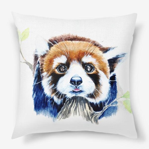 Подушка «Рыжая панда»