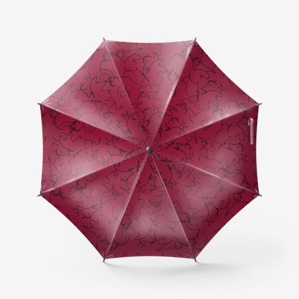 Зонт «Быки паттерн»