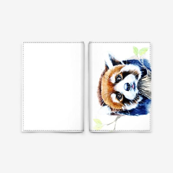 Обложка для паспорта «Рыжая панда»