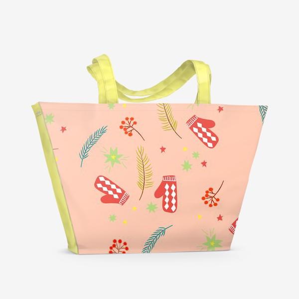 Пляжная сумка «детские  варежки»