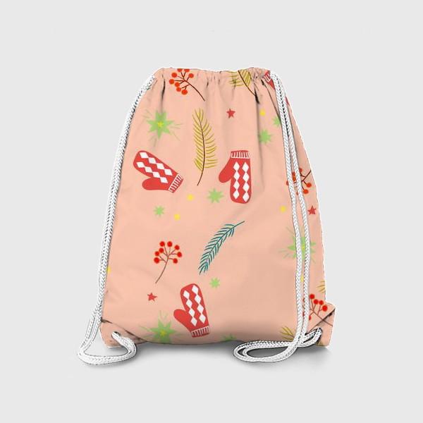 Рюкзак «детские  варежки»