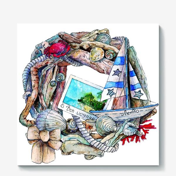 Холст «Морской венок»