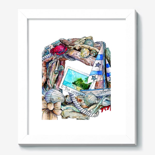 Картина «Морской венок»