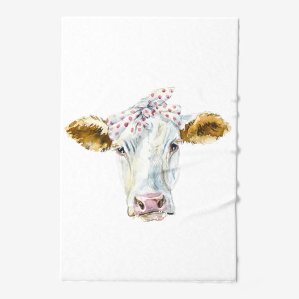 Полотенце «Корова в бандане»