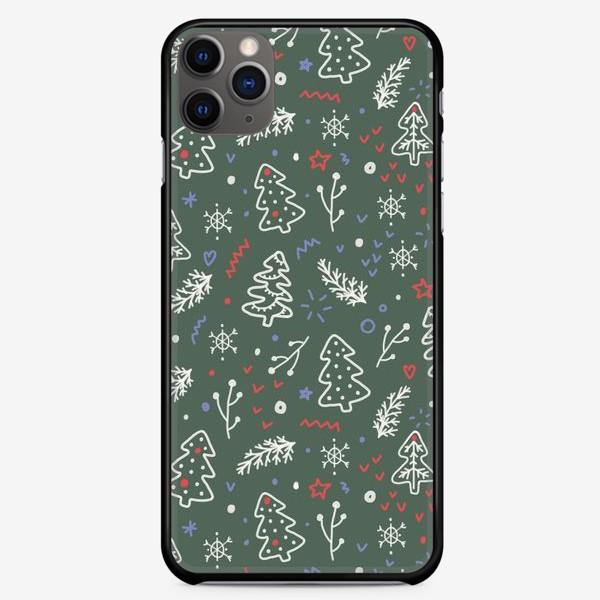 Чехол iPhone «Стильный новогодний паттерн»
