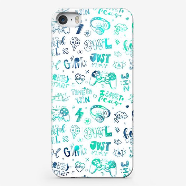 Чехол iPhone «Girl. Just play»