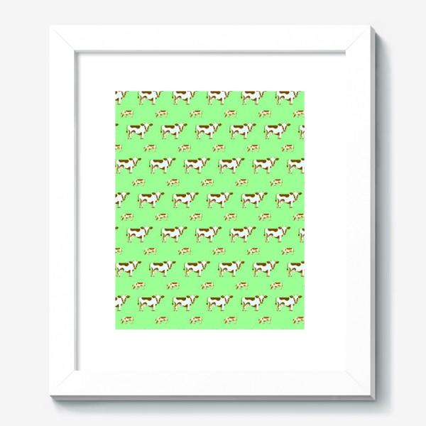 Картина «Смирные коровы»