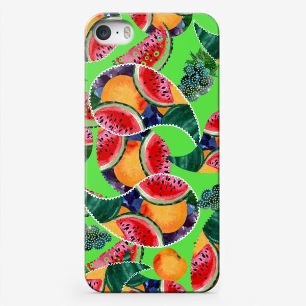 Чехол iPhone «фруктовый рай»