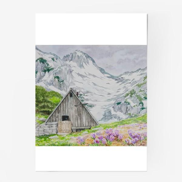 Постер «Домик в горах»