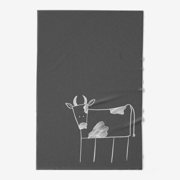 Полотенце «Бык, корова»