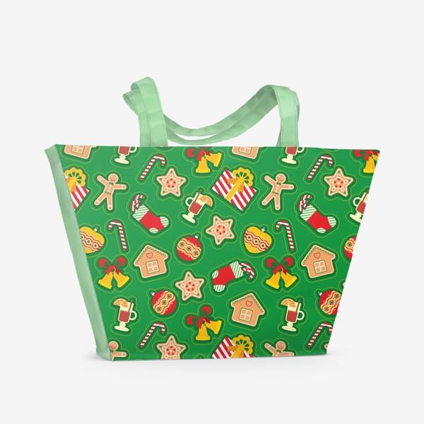 Пляжная сумка «Рождество»