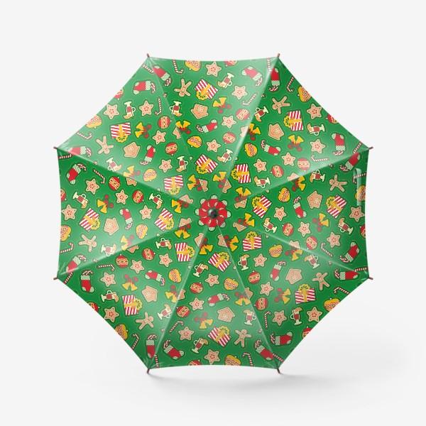Зонт «Рождество»