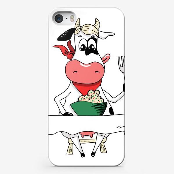 Чехол iPhone «Оливьешечка»
