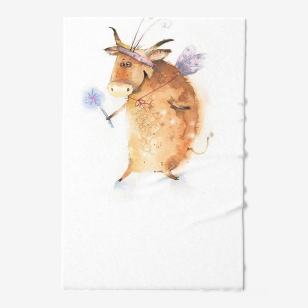 Полотенце «Бык нарядный»