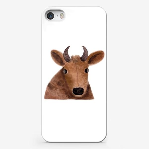 Чехол iPhone «Бурёнка Алёнка»