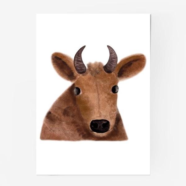 Постер «Бурёнка Алёнка»