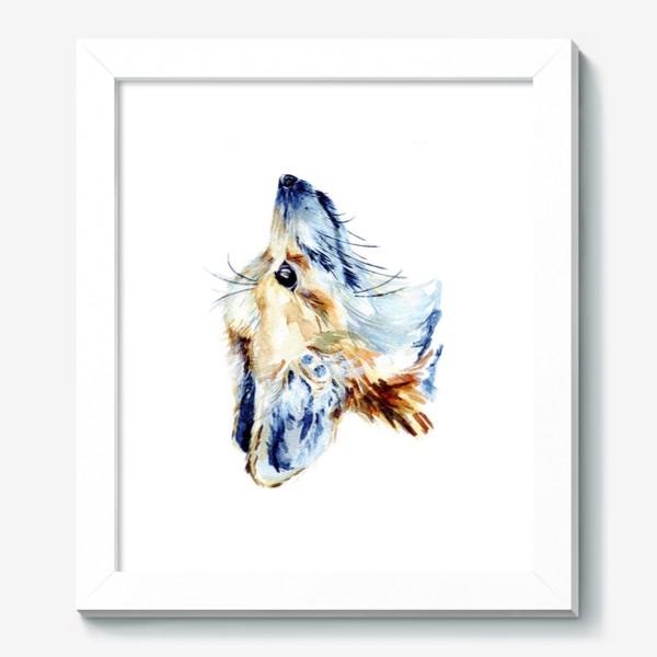Картина «Проницательный лис»