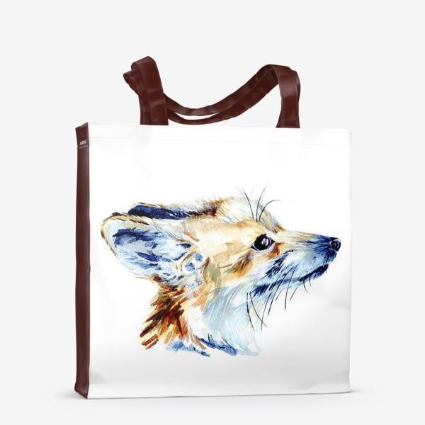 Сумка-шоппер «Проницательный лис»