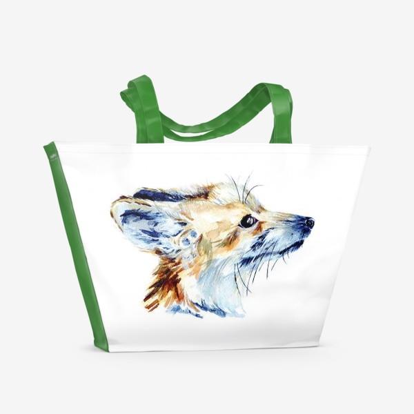 Пляжная сумка «Проницательный лис»