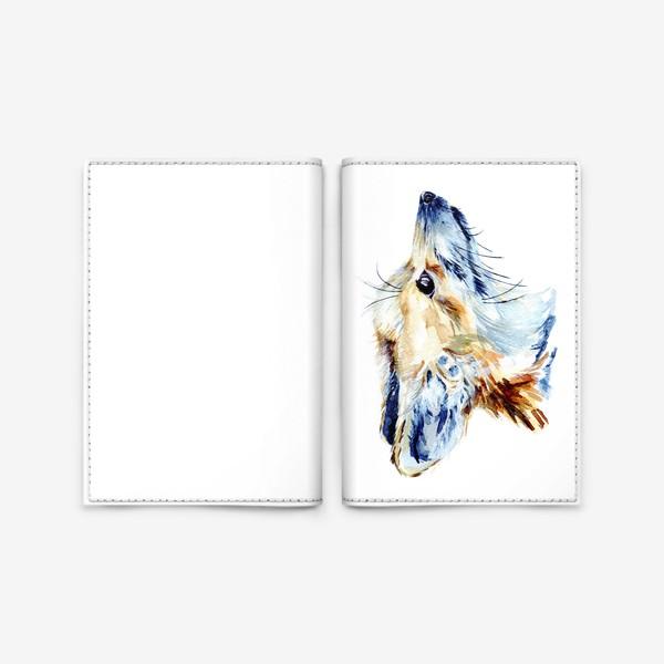 Обложка для паспорта «Проницательный лис»