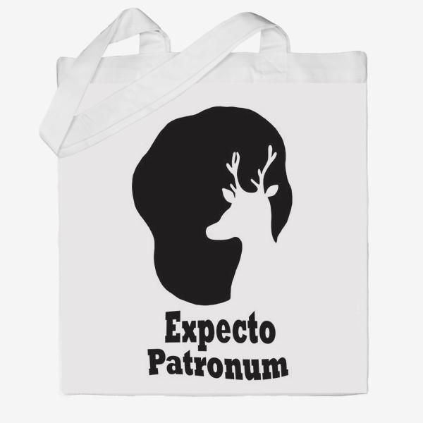 Сумка хб «Экспекто Патронум. Гарри Поттер»