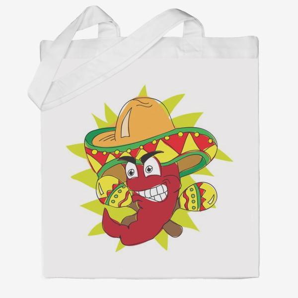 Сумка хб «Мексиканский перчик»