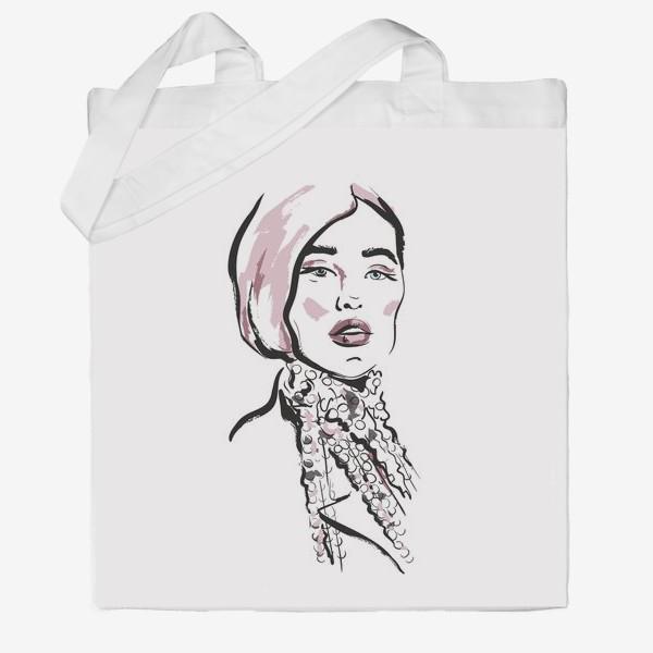 Сумка хб «Fashion | Девушка 2»