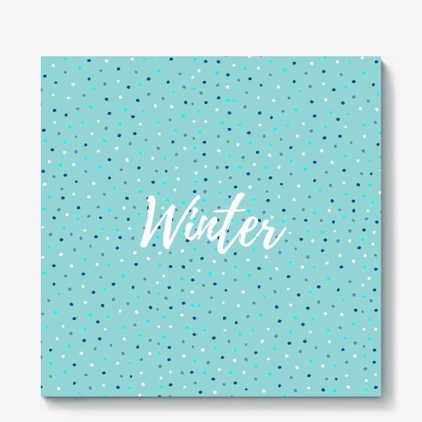 Холст «Winter»