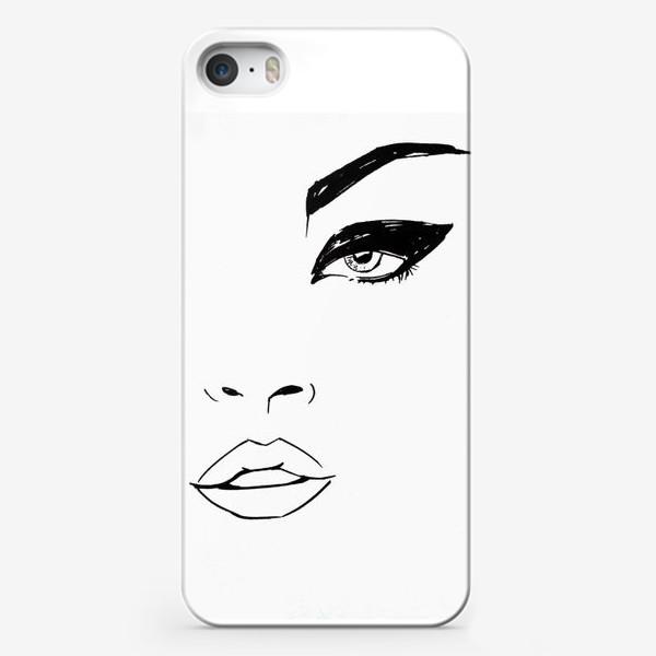 Чехол iPhone «Girl»