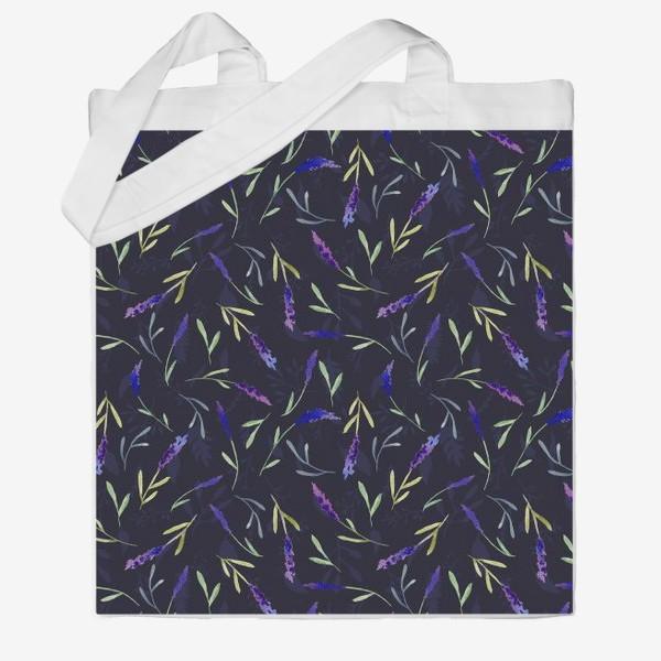 Сумка хб « Lavender »