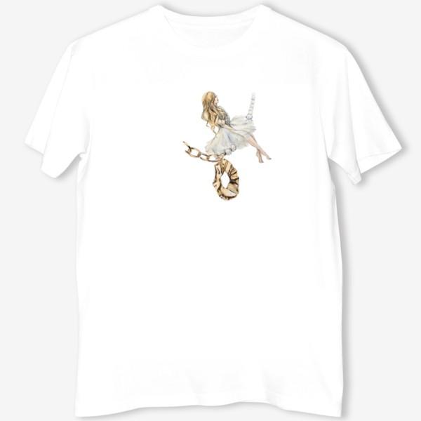 Футболка «Fashion Воздушная Девушка украшения золото»