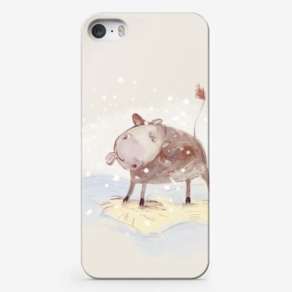 Чехол iPhone «Бычок. 2»