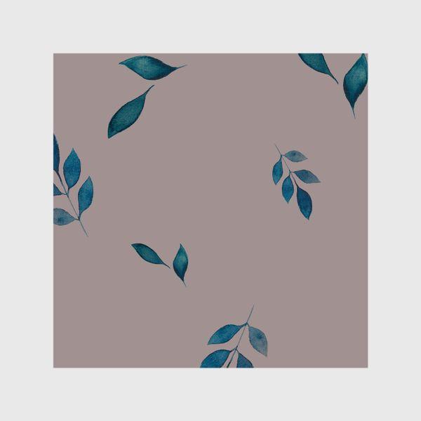 Шторы «Акварельные листья »