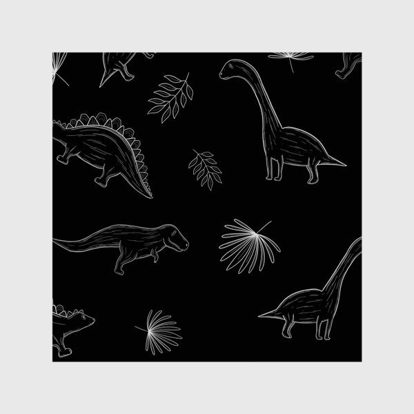 Шторы «Графические динозавры»