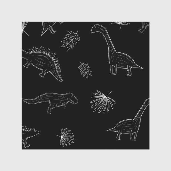 Скатерть «Графические динозавры»