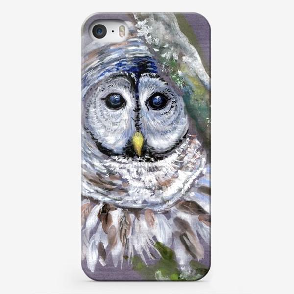 Чехол iPhone «Сова отшельница»