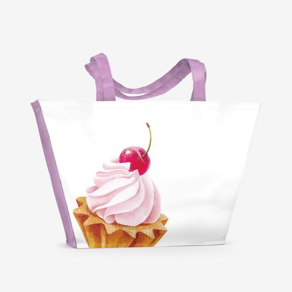 Пляжная сумка «пирожное»