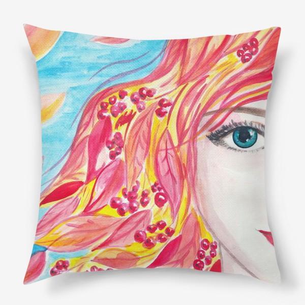 Подушка «рябинка»