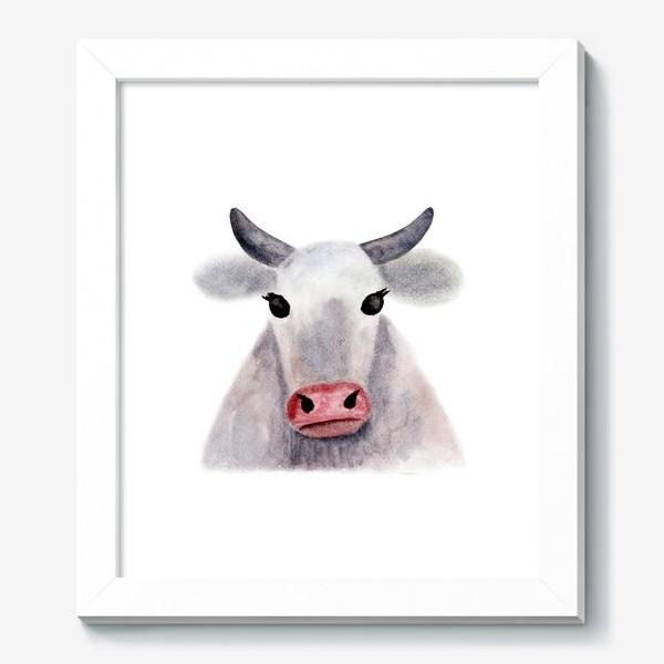 Картина «Серая корова»