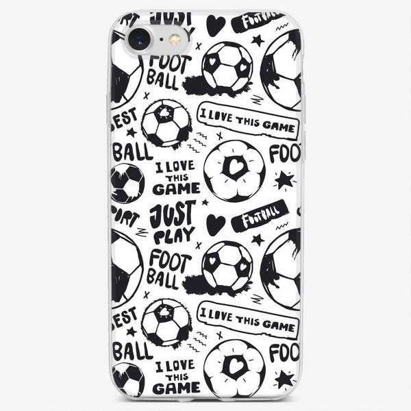 Чехол iPhone «Просто играй в футбол!»