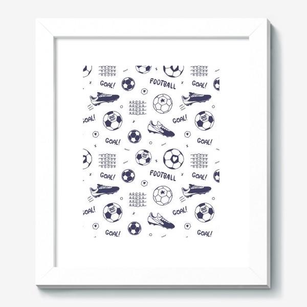 Картина «Футбольный паттерн#1»