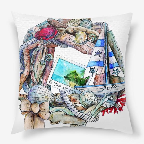 Подушка «Морской венок»