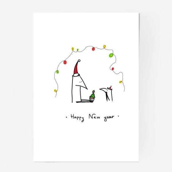 Постер «Лисички празднуют Новый год»